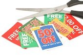 Save money discount coupon offers.