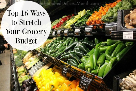 Stretch your spending budget with coupons for groceries.