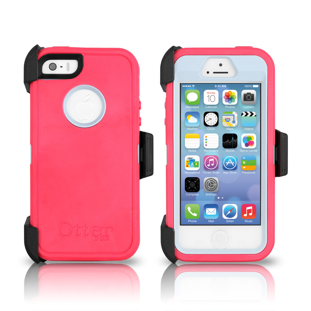 OtterBox Defender iPhone Case Pink/Grey