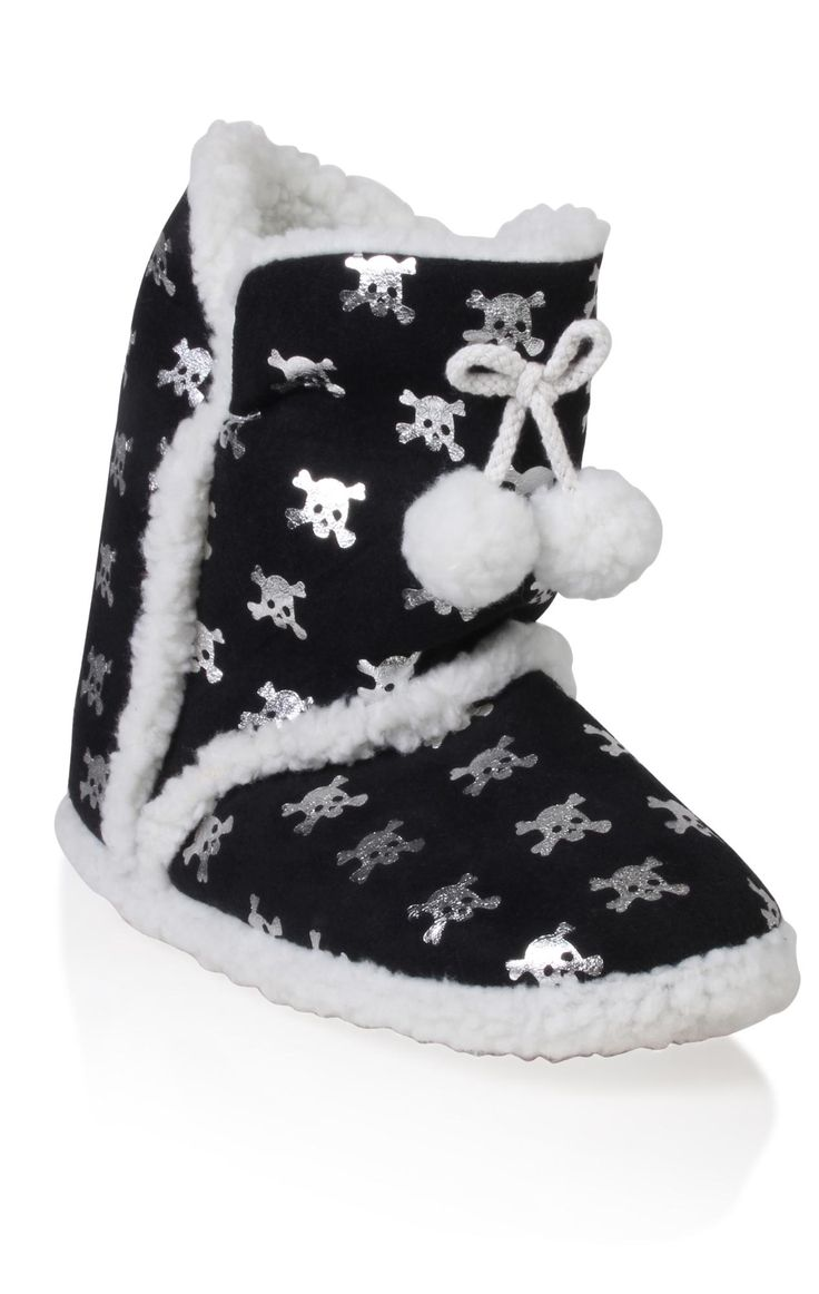 Boys Skull Shoes and Slippers