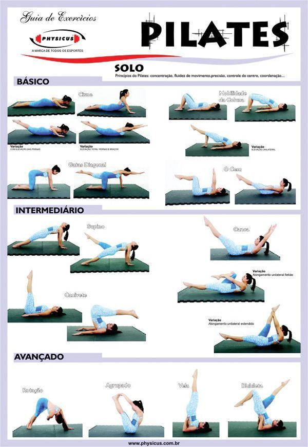 Learn Pilates Exercises for Beginners to Advanced