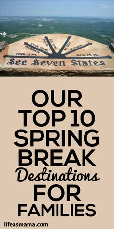 Spring Break – Top 10 Destinations
