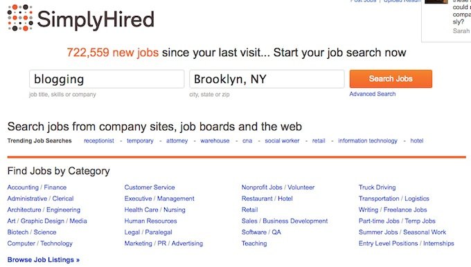 Simply Hired Job Search – www.Simplyhired.com Review