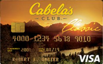 Cabela's Club Visa Application Review