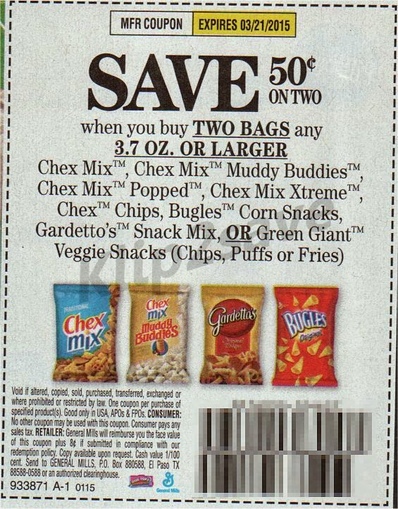 chex cereal coupons
