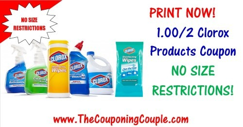 Clorox Coupons
