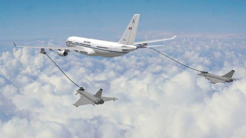 hi speed jet refueling in air