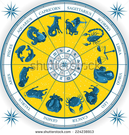 astrological charts and signs