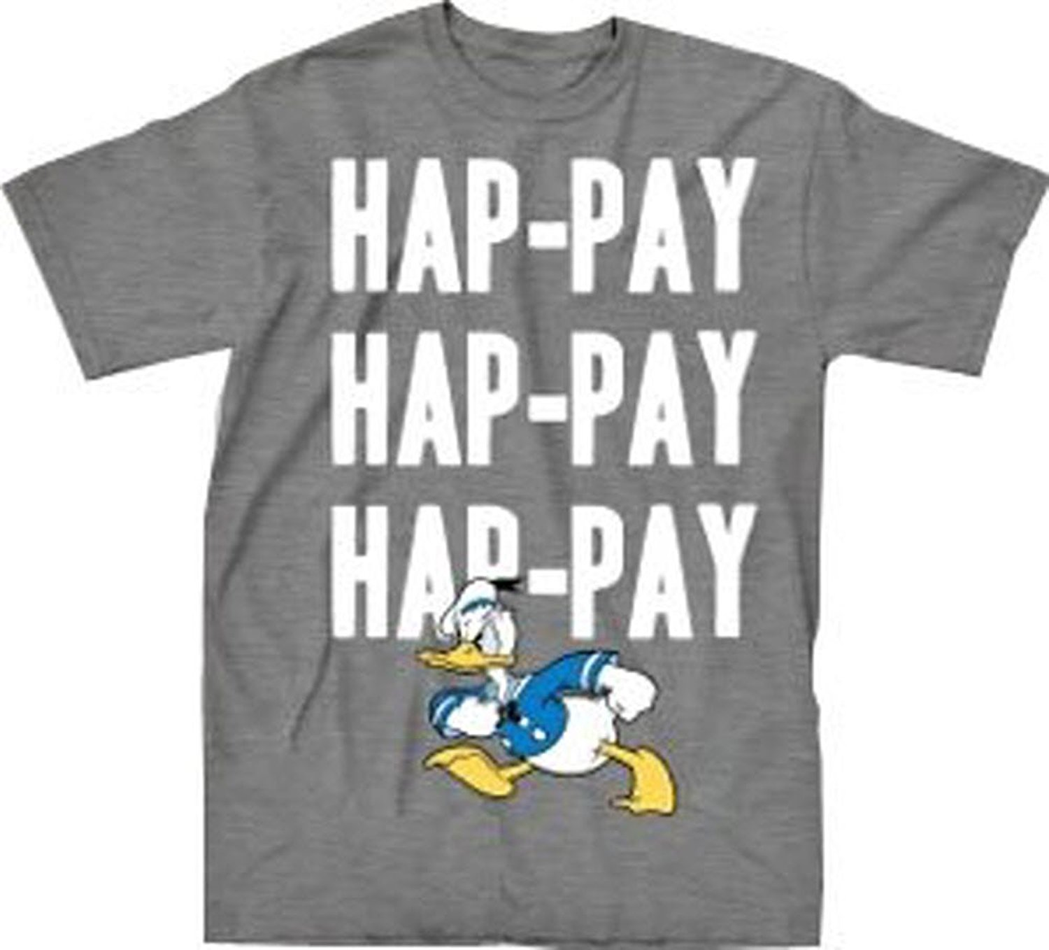 Happy Duck Dynasty T-Shirt : Hap-pay Hap-pay Hap-pay