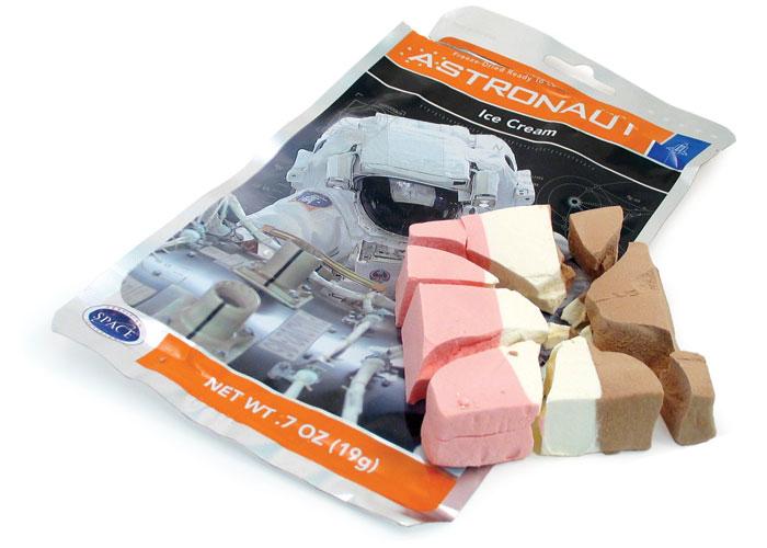 Astronaut Ice Cream - Neapolitan