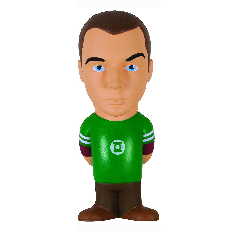 Cool Big Bang Theory Stress Dolls and Figures