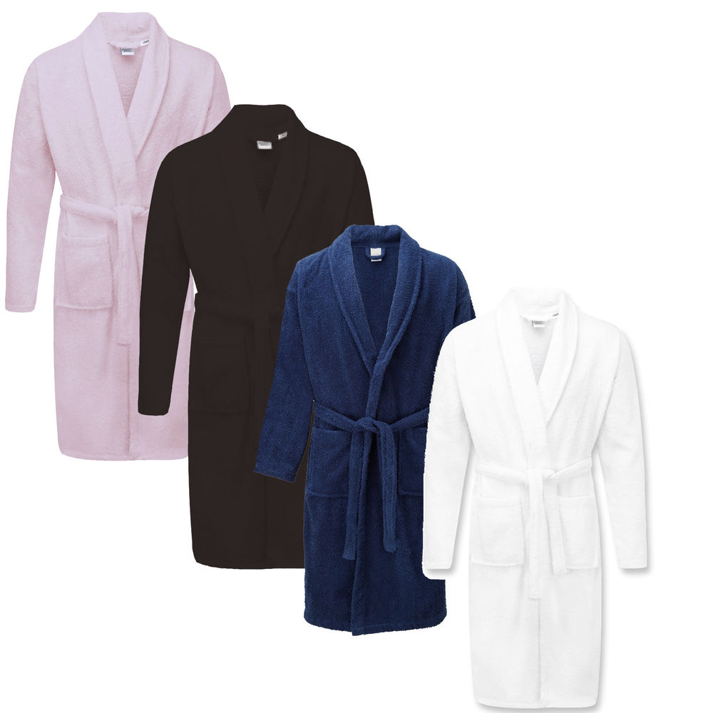 Egyptian Cotton Bathrobe - violet