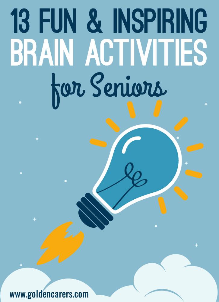 fun activities for seniors